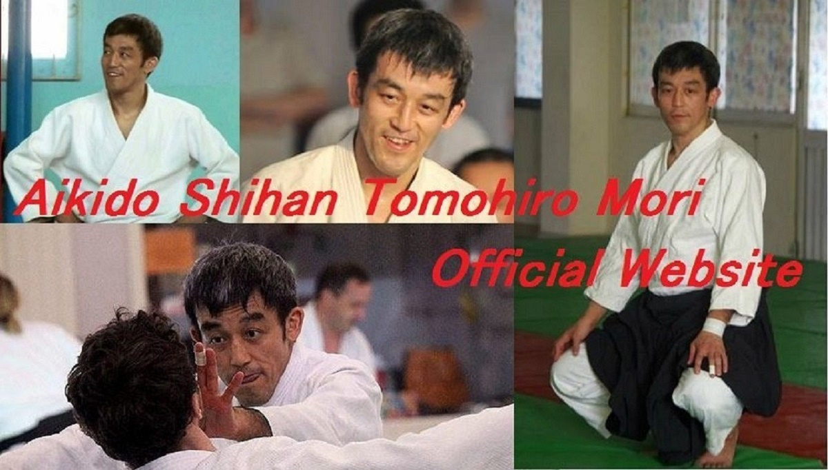 Aikido Shihan Tomohiro Mori Official Website